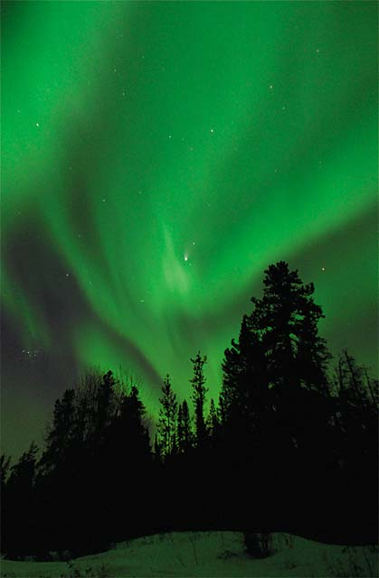 Attractive Northern Lights Photo   Click To Enlarge Design